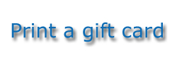Print a gift Card