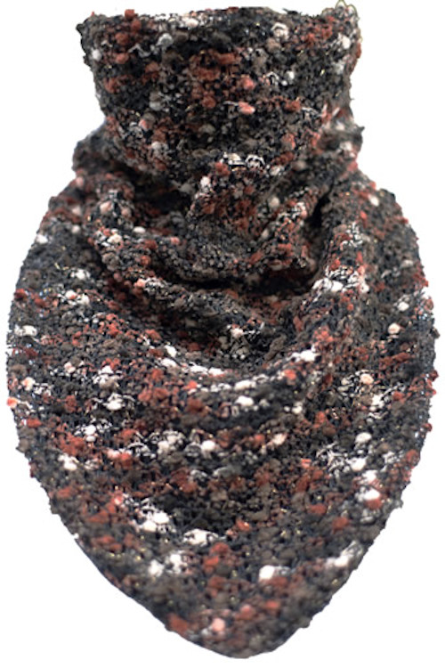 Deep Autumn Metallic Nubby Boucle Scarf